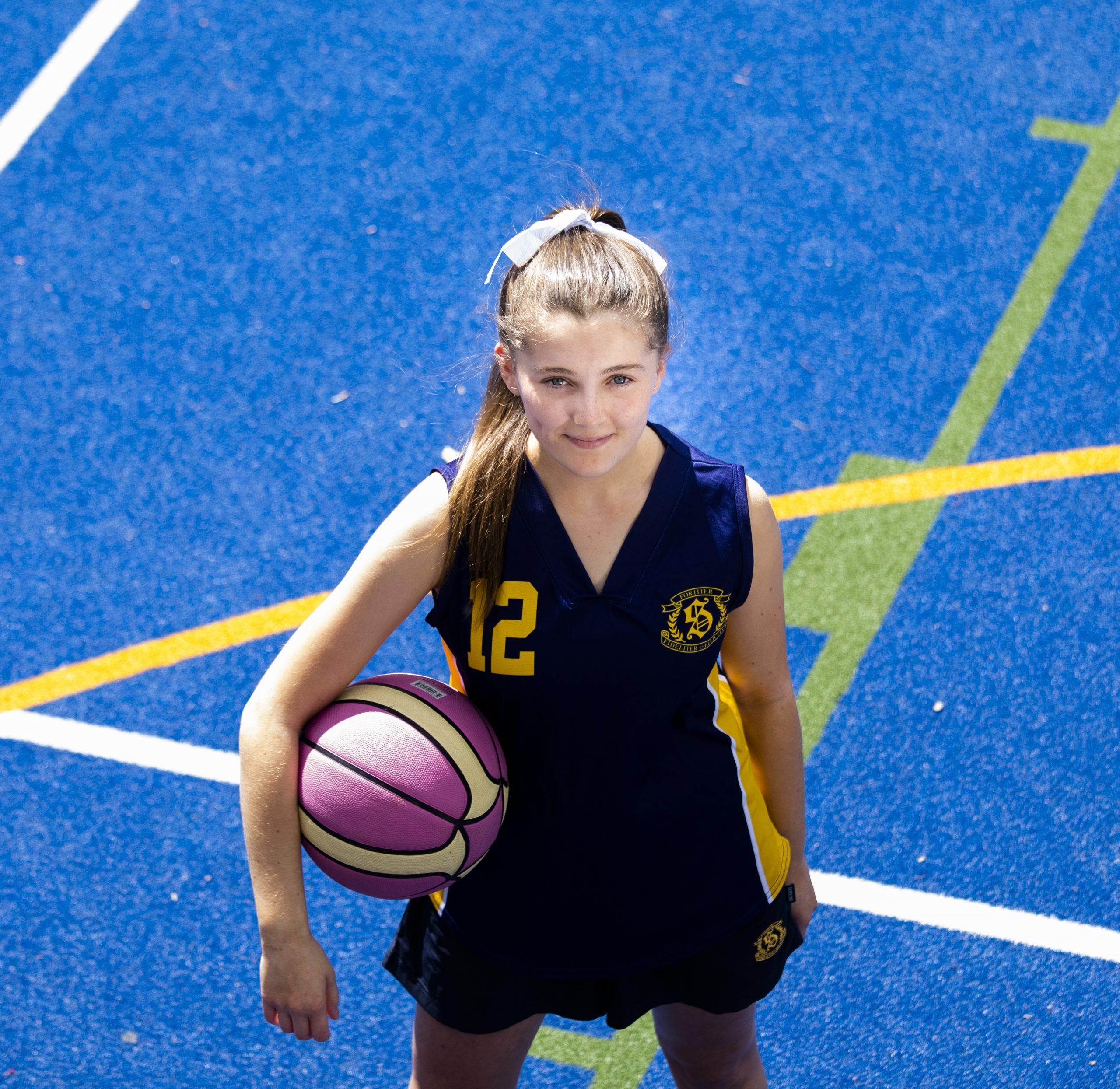 Giving sport basketball