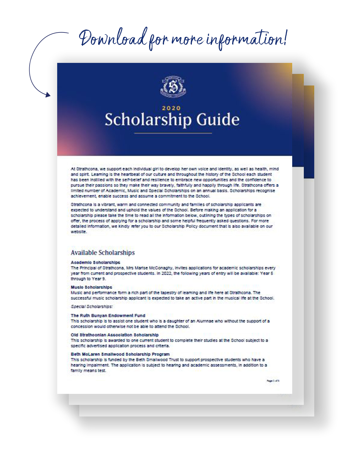 Scholarship guide image