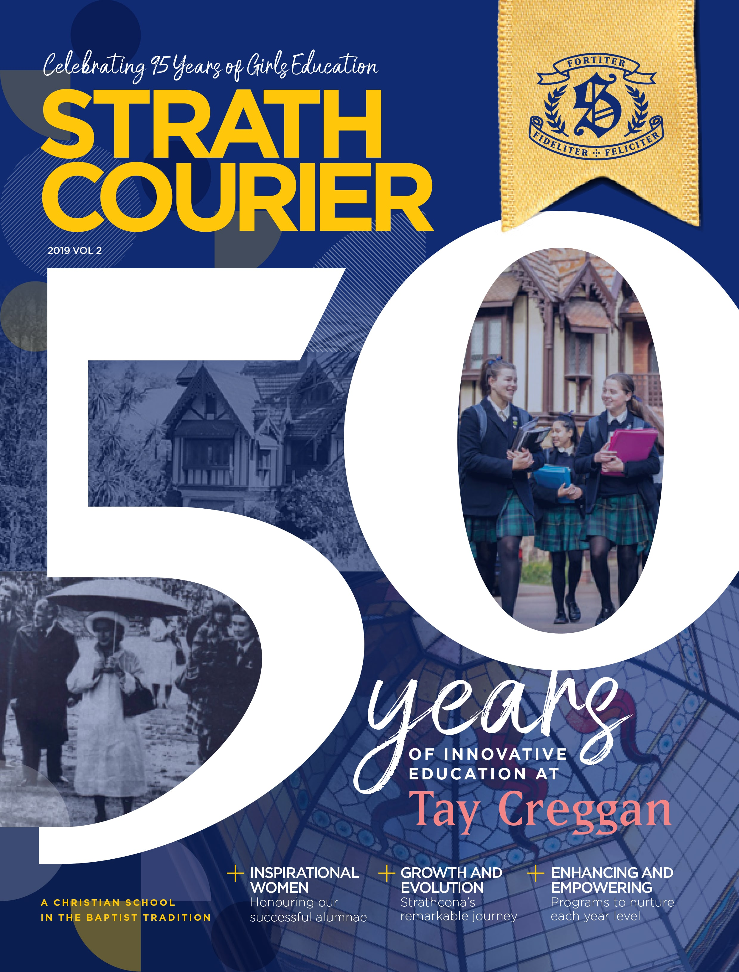 Strath Courier 50 years