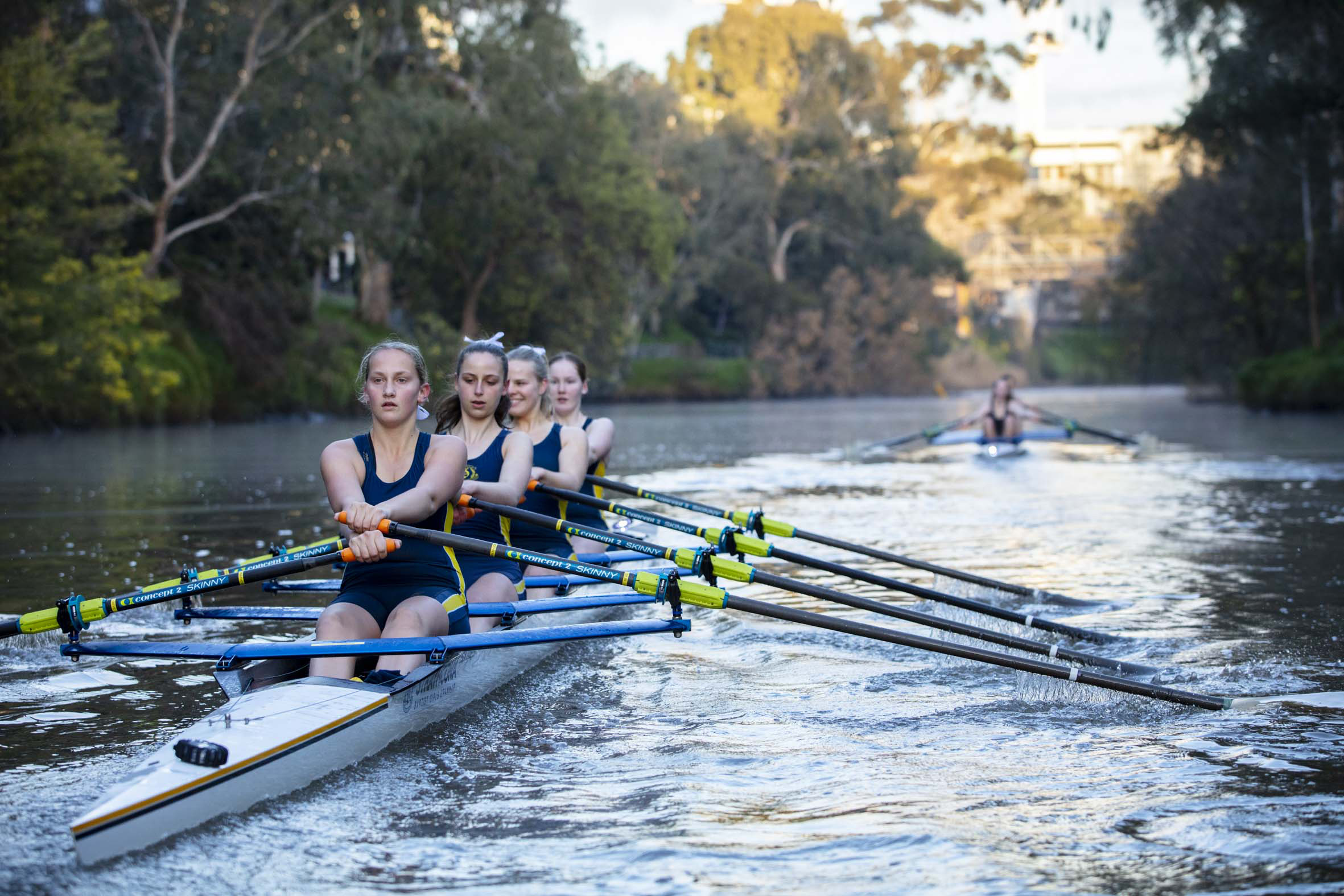 Yarra River rowing