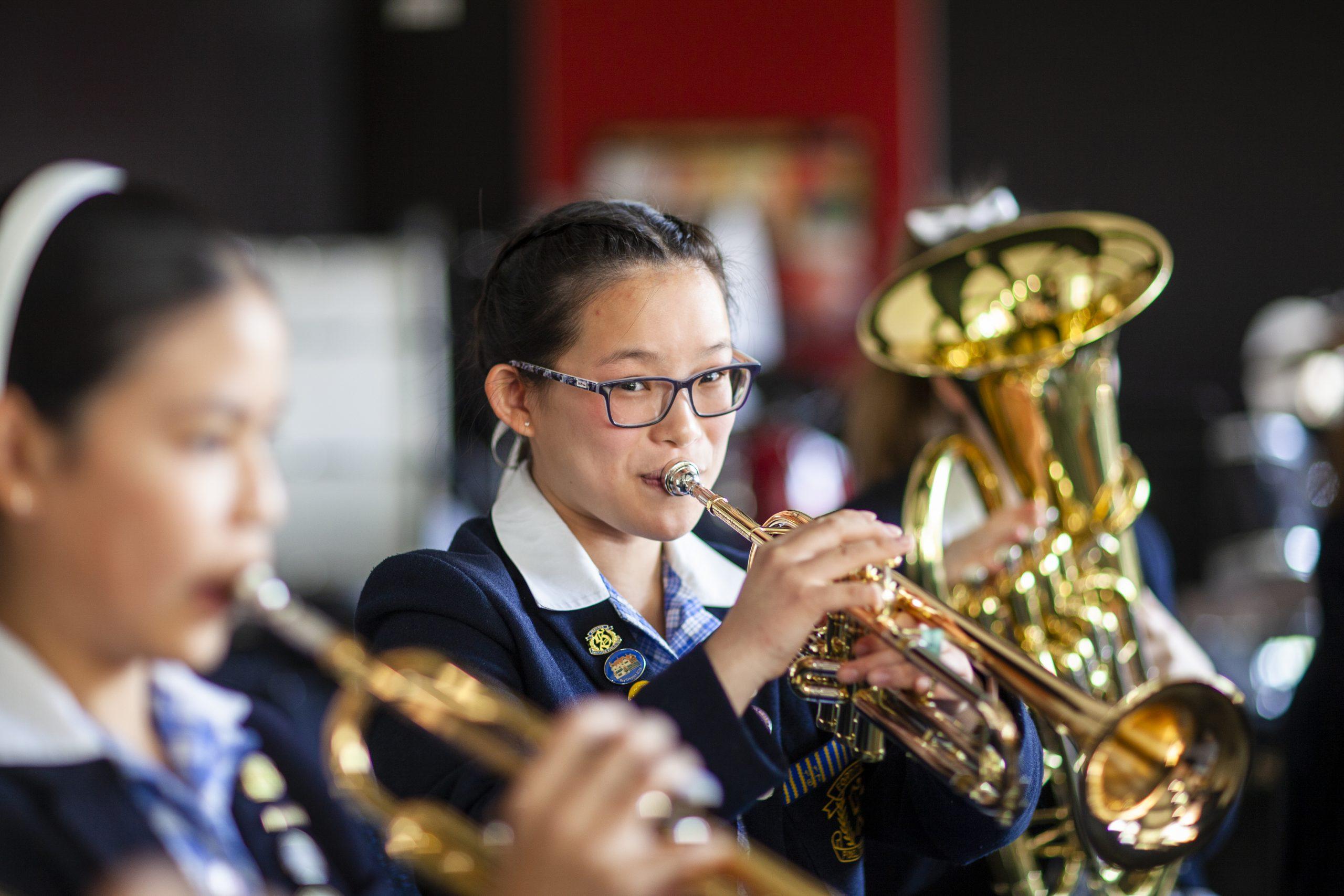 Middle School brass