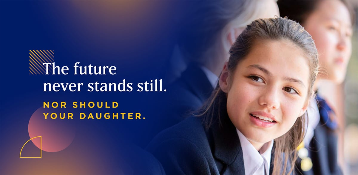 Strathcona Girls banner